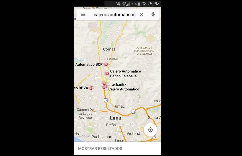 Google maps las 7 funciones que todo usuario debe conocer for Buscador de cajeros