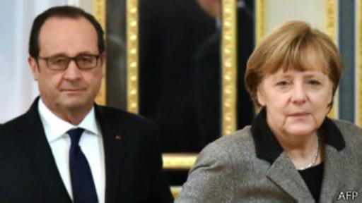 Merkel y Hollande también asisten a la reunión en Minsk.