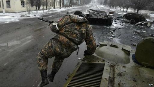 La ciudad de Debaltseve enfrenta una crisis humanitaria.