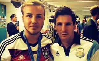 """Mario Götze alabó a Messi: """"Ha logrado cosas inalcanzables"""""""