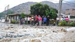Huaicos en Chosica dañaron al menos 40 viviendas [FOTOS] - Noticias de municipalidad de chosica