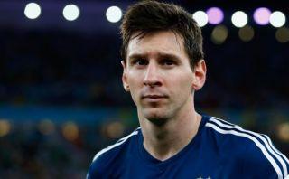Lionel Messi: la foto que más le duele ganó premio mundial