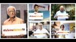 Intelectuales se suman a campaña por reforma electoral - Noticias de percy cordova