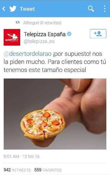 [Foto] Twitter: pizzería respondió ingeniosamente a grosero troll