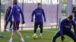 Barcelona: culés entrenaron sin Andrés Iniesta y Gerard Piqué - Noticias de andrés iniesta