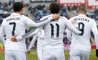 Real Madrid: Benzema, Bale y Cristiano ya suman 50 goles