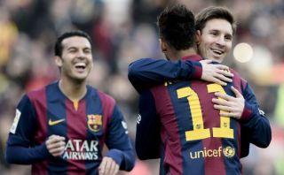 Barcelona: Neymar anotó golazo tras pase de Messi en Camp Nou