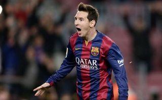 Lionel Messi anotó 'hat-trick' en su partido 300 en la Liga