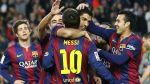 Barcelona ganó 5-0 a Levante con triplete de Messi en Liga BBVA - Noticias de segunda división de argentina