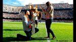 Hincha de Valencia propuso matrimonio en partido de Liga BBVA - Noticias de juan pablo cordoba