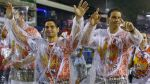 Rafael Nadal desfiló bajo intensa lluvia en carnaval de Río - Noticias de nadal
