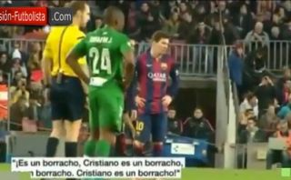 """""""Cristiano es un borracho"""", gritan desde tribunas del Camp Nou"""