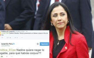 Twitter: la Embajada de Israel en Lima y su tuit sobre Nadine