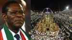El Carnaval de Río y el polémico homenaje a Guinea Ecuatorial - Noticias de teodoro obiang