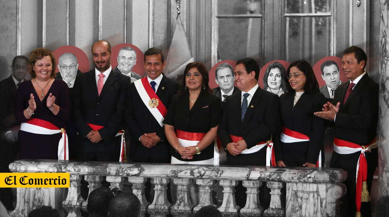 Gabinete renovado conoce a los nuevos ministros de humala for Ministros del peru