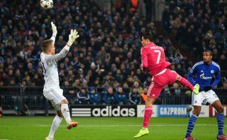 Real Madrid: Cristiano Ronaldo anotó de cabeza a Schalke 04