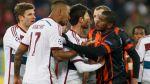Bayern Múnich vs. Shakhtar: un duelo sin goles pero con golpes - Noticias de franck ribéry