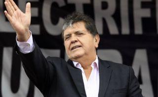 """Alan García: """"Quieren eliminar a su adversario electoral"""""""