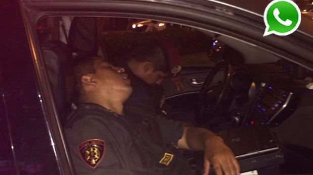 sociedad policias hicieron video dentro patrullerop