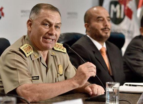 Pérez Guadalupe niega renuncia del director de la Policía