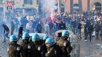 Europa League: ultras del Feyenoord pelearon con policías - Noticias de hora peruana