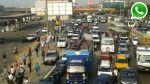 WhatsApp: caos en carretera central por desalojo [FOTOS] - Noticias de demoliciones