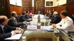 Presunto espionaje: Ollanta Humala encabezó Consejo de Estado - Noticias de palacio de gobierno