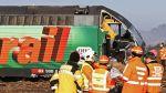 Colisión de dos trenes en Suiza deja cinco heridos - Noticias de accidente en chincha