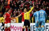Carlos Zambrano fue expulsado en Bundesliga por este codazo
