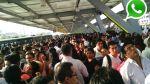 WhatsApp: ¿qué pasaría en caso de temblor en Estación Naranjal? - Noticias de simulacro