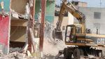Habrá trabajos de demolición en 71 colegios de Lima - Noticias de demoliciones