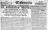 1915: El maltrecho Ferrocarril Central