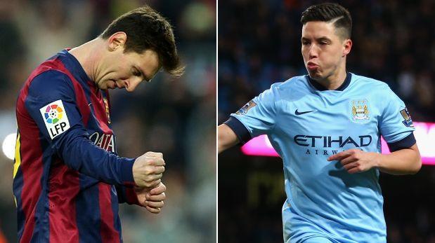 Manchester City 1 - Barcelona 2   Final del Partido