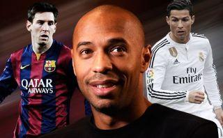 ¿A quién escogió Henry entre Cristiano Ronaldo y Lionel Messi?