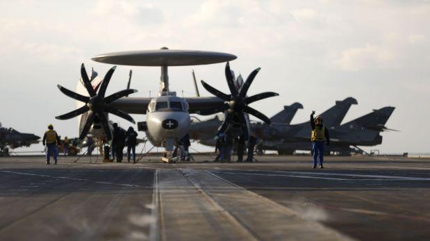 Francia moviliza portaaviones contra el Estado Islámico en Iraq