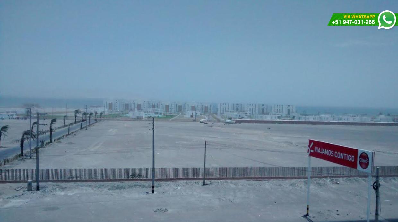 Esta era la vista al mediodía y empeoró con las horas (Foto: WhatsApp/El Comercio)