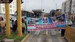 Barranco: vía del Metropolitano fue bloqueada por protesta - Noticias de ministerio de educación