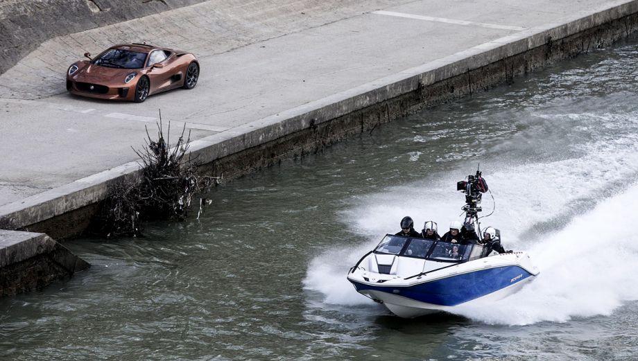 """James Bond: la filmación de """"Spectre"""" en Roma"""
