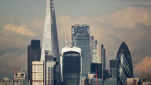 La City de Londres, uno los distritos financieros de la capital británica, está a minutos de Bethnal Green.
