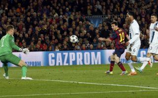 Exquisita definición de Messi al City que Pellegrini no olvida
