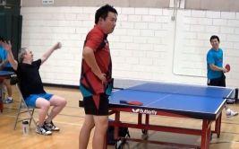 YouTube: la más increíble jugada de ping pong que verás (VIDEO)