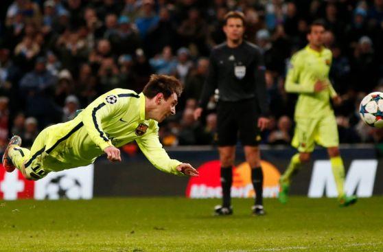 Lionel Messi: la secuencia de su penal errado en Champions