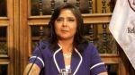 Ana Jara pide que se investigue aportes de todos los partidos - Noticias de palacio de gobierno