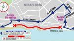 Costa Verde: cierran tramo entre Balta y San Martín esta noche - Noticias de peaje