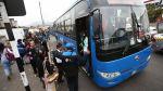 Corredor azul: empresa operadora presenta renuncia - Noticias de villa los reyes