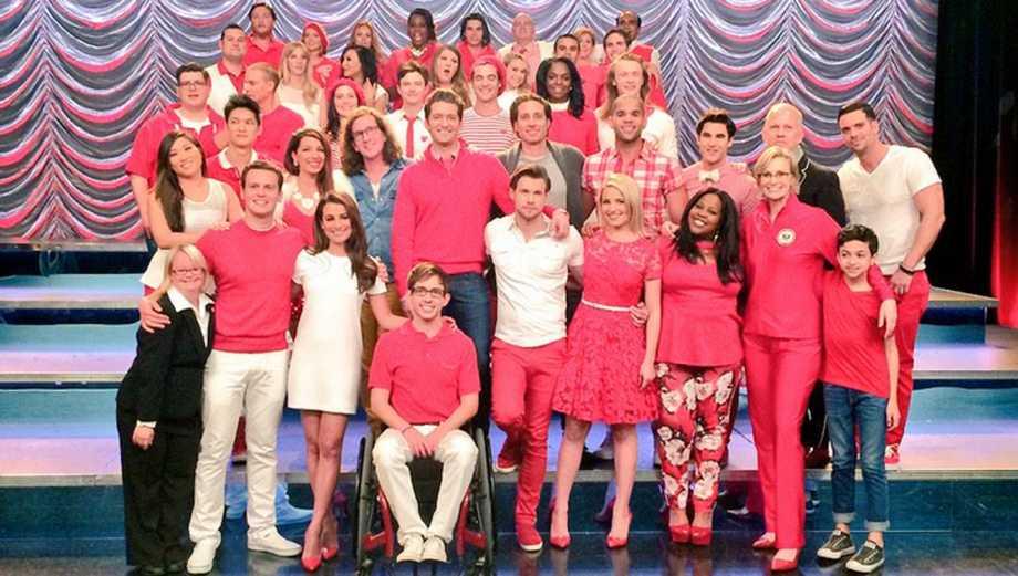 """""""Glee"""": así se grabó el capítulo final de la serie (Fotos)"""