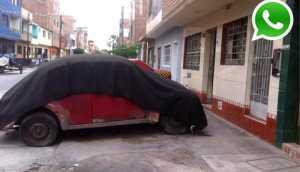 WhatsApp: autos viejos impiden paso de ambulancias y bomberos