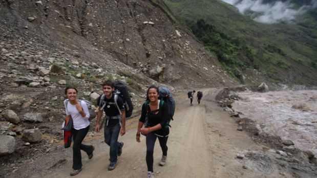 Machu Picchu: colapsó puente en vía alterna de acceso