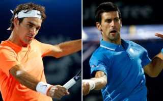 Roger Federer y Novak Djokovic avanzaron en el ATP de Dubái