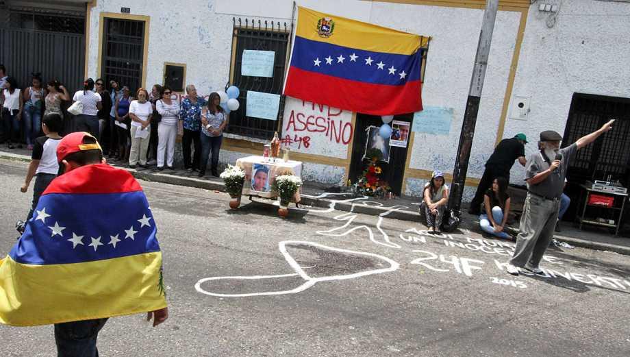 El grito venezolano por el asesinato del estudiante de 14 años